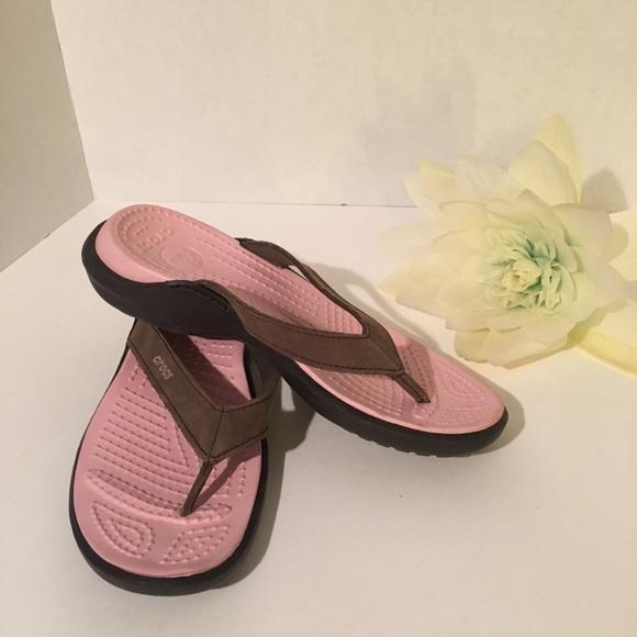 Crock sandals